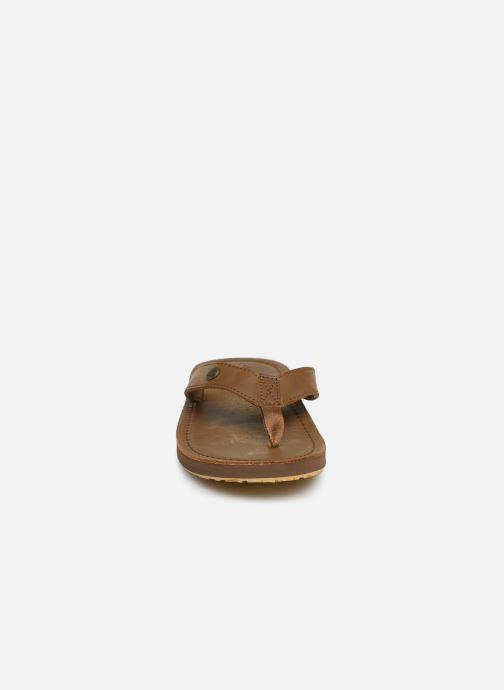 Chanclas Cool Shoe Pilat Beige vista del modelo