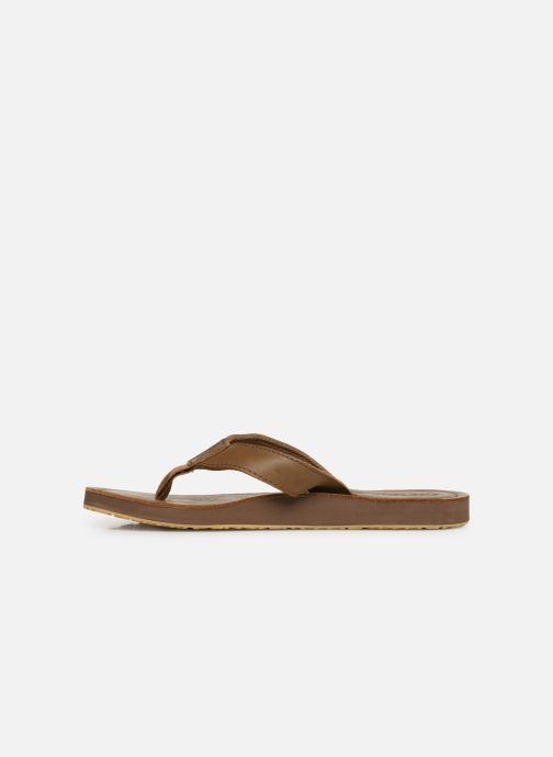 Chanclas Cool Shoe Pilat Beige vista de frente