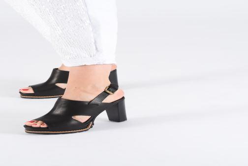 Sandales et nu-pieds See by Chloé Brooke I Noir vue bas / vue portée sac