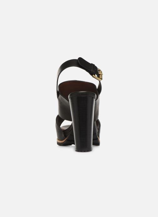 Sandales et nu-pieds See by Chloé Brooke I Noir vue droite