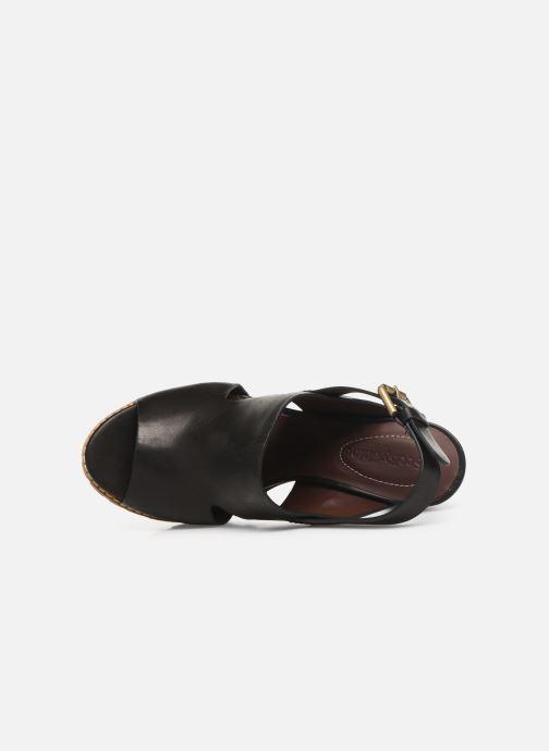 Sandales et nu-pieds See by Chloé Brooke I Noir vue gauche