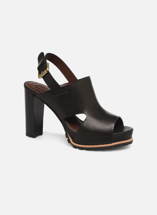 Sandaler See by Chloé Brooke I Sort detaljeret billede af skoene