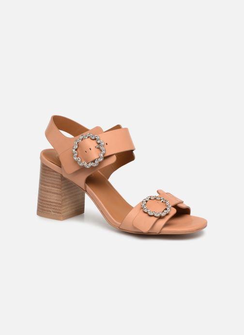 Sandales et nu-pieds See by Chloé Kristen Marron vue détail/paire