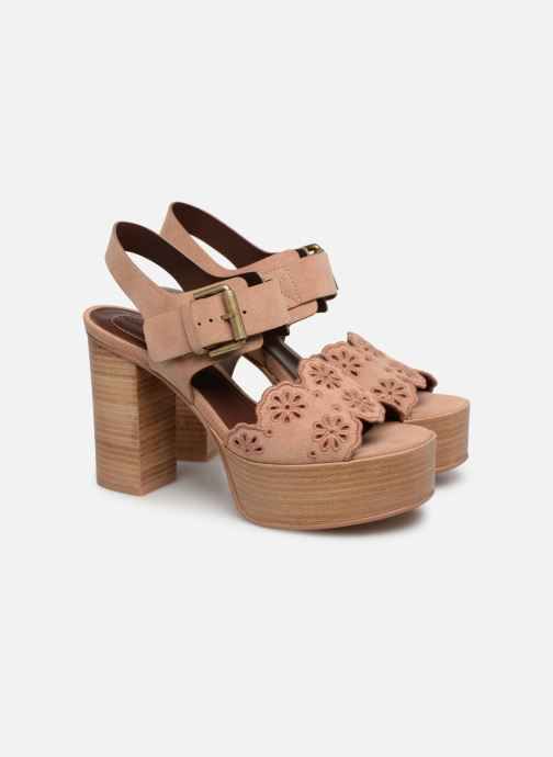Sandales et nu-pieds See by Chloé Kristy Rose vue 3/4