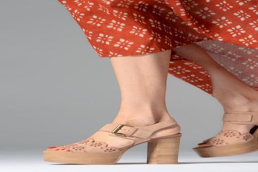 Sandales et nu-pieds See by Chloé Kristy Rose vue bas / vue portée sac