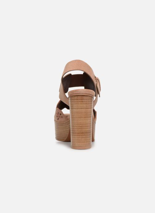 Sandales et nu-pieds See by Chloé Kristy Rose vue droite