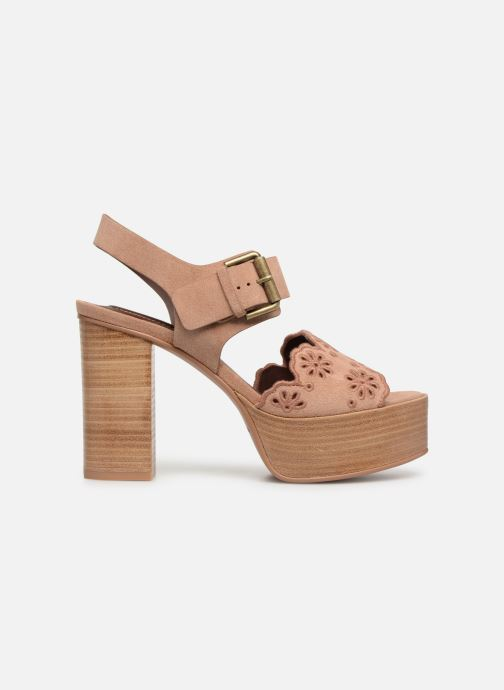 Sandales et nu-pieds See by Chloé Kristy Rose vue derrière