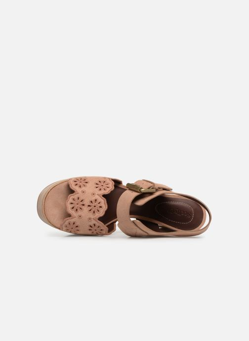 Sandales et nu-pieds See by Chloé Kristy Rose vue gauche