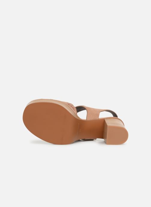 Sandales et nu-pieds See by Chloé Kristy Rose vue haut