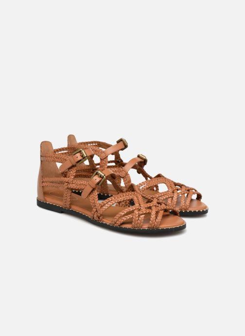 Sandales et nu-pieds See by Chloé Katie I Marron vue 3/4