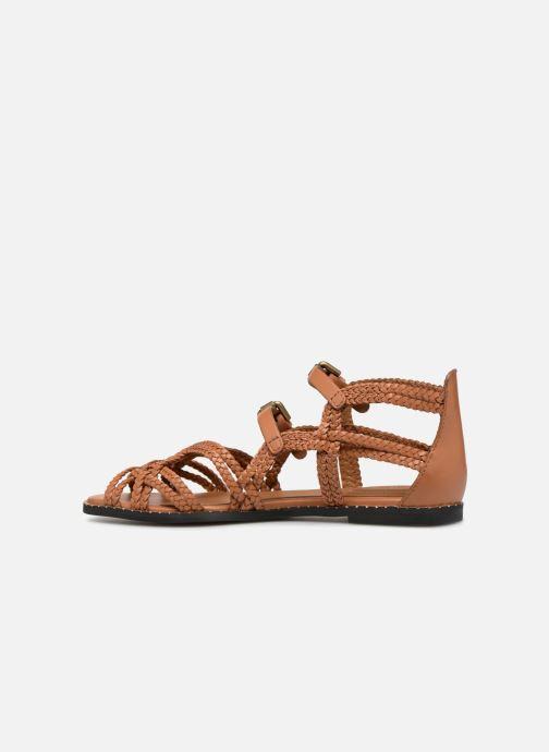 Sandales et nu-pieds See by Chloé Katie I Marron vue face