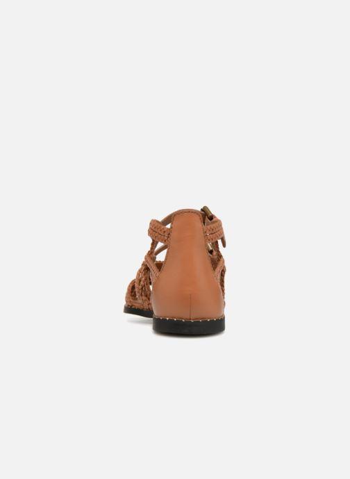 Sandales et nu-pieds See by Chloé Katie I Marron vue droite