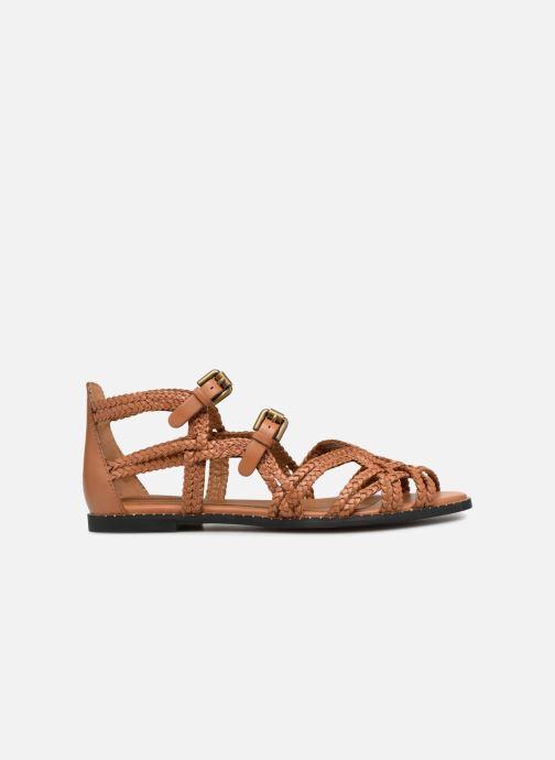 Sandales et nu-pieds See by Chloé Katie I Marron vue derrière