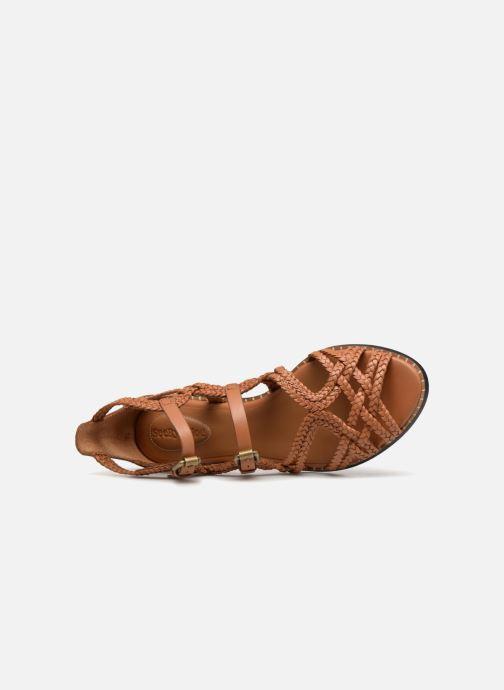 Sandales et nu-pieds See by Chloé Katie I Marron vue gauche