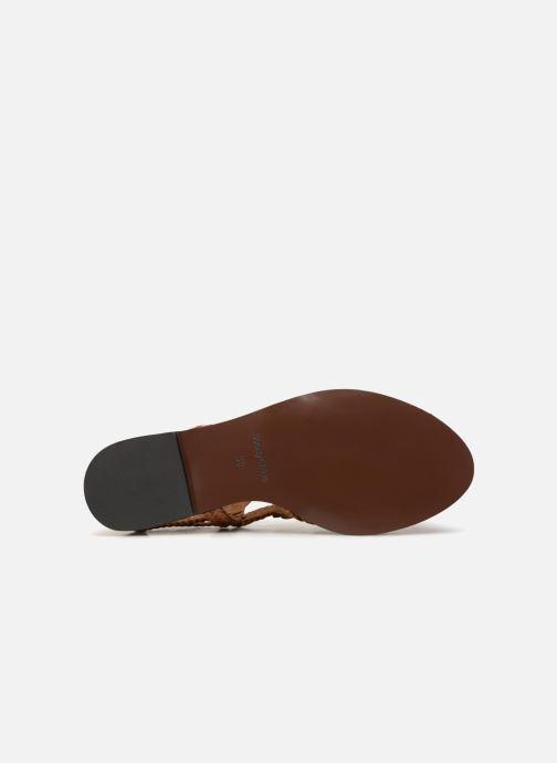 Sandales et nu-pieds See by Chloé Katie I Marron vue haut