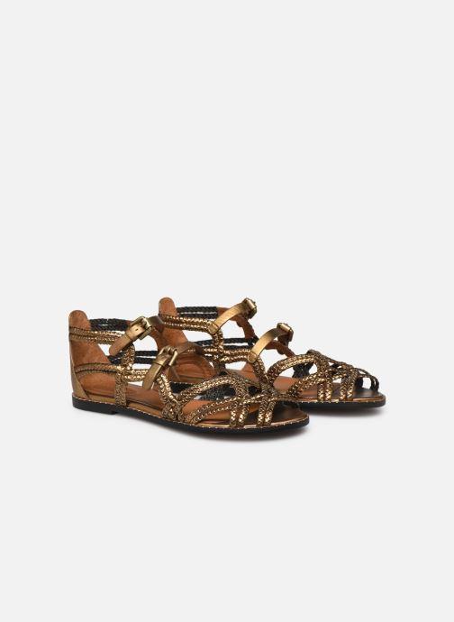 Sandales et nu-pieds See by Chloé Katie I Or et bronze vue 3/4
