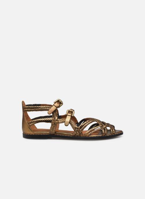 Sandales et nu-pieds See by Chloé Katie I Or et bronze vue derrière