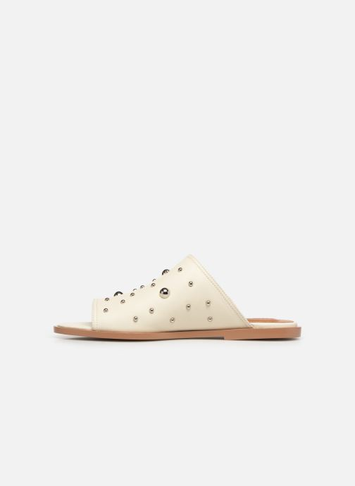 Zoccoli See by Chloé Abby mule Bianco immagine frontale