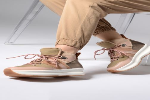 Sneakers See by Chloé Casey Pink se forneden
