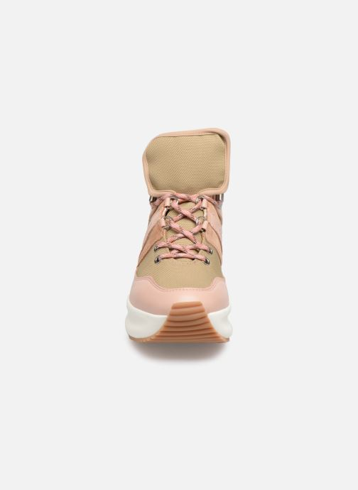 Baskets See by Chloé Casey Rose vue portées chaussures