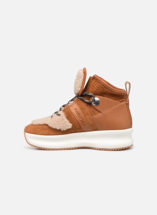 Sneakers See by Chloé Casey Bruin voorkant