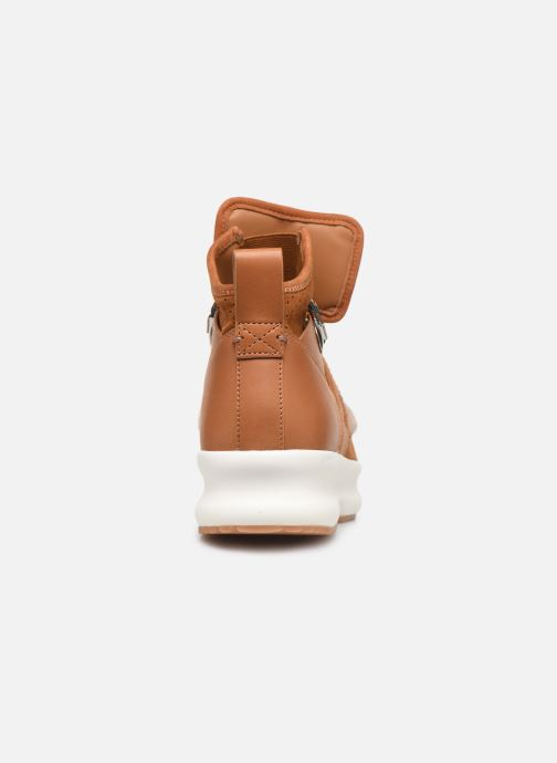 Baskets See by Chloé Casey Marron vue droite