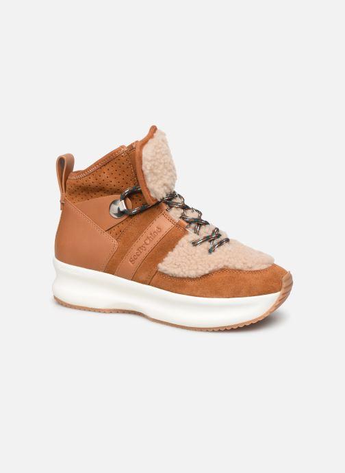 Sneakers See by Chloé Casey Brun detaljeret billede af skoene