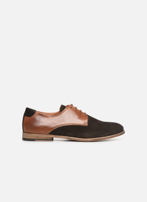 Chaussures à lacets Kost ACID 76 Marron vue derrière