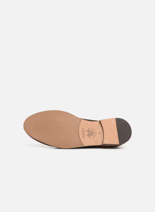 Zapatos con cordones Kost ACID 76 Marrón vista de arriba