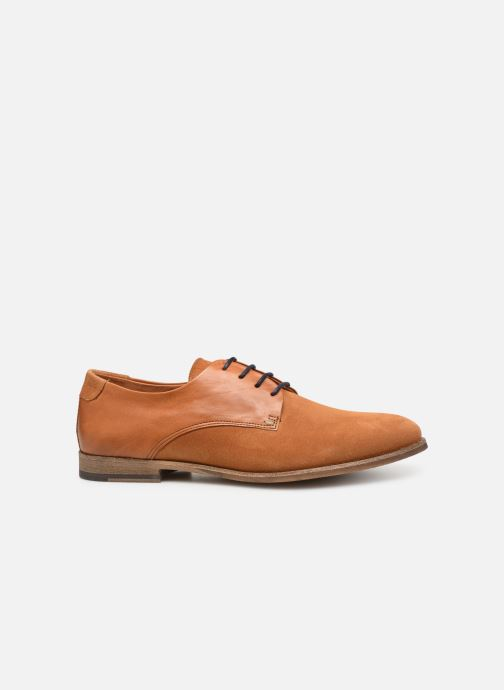 Lace-up shoes Kost ACID 76 Brown back view
