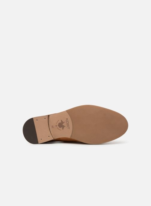Lace-up shoes Kost ACID 76 Brown view from above
