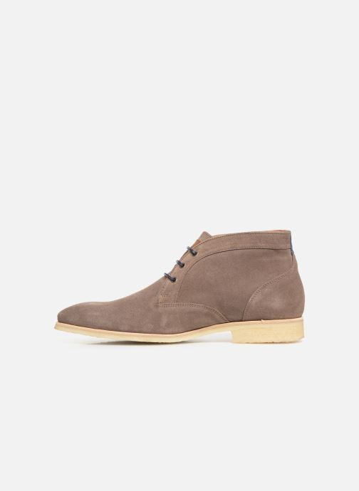 Ankle boots Kost CALYPSO 5 Brown front view
