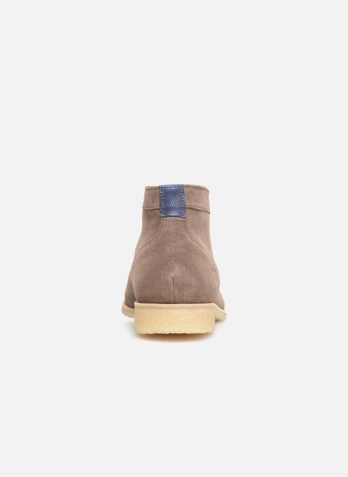 Boots en enkellaarsjes Kost CALYPSO 5 Bruin rechts