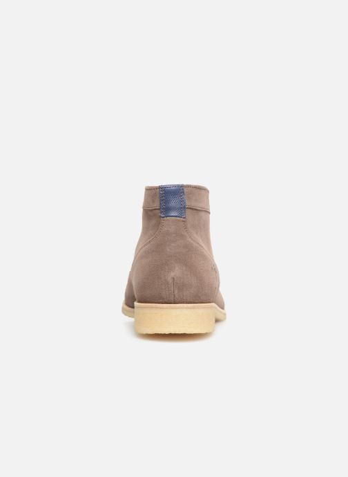 Ankle boots Kost CALYPSO 5 Brown view from the right