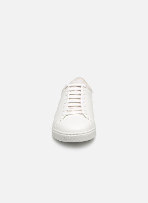 Baskets Kost FRIPON 42 Blanc vue portées chaussures