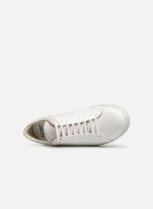 Trainers Kost FRIPON 42 White view from the left
