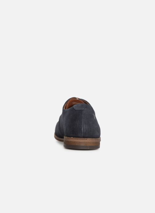 Lace-up shoes Kost INVENTEUR 5 Blue view from the right
