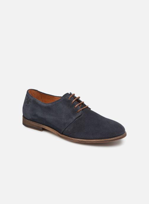 Snøresko Kost INVENTEUR 5 Blå detaljeret billede af skoene