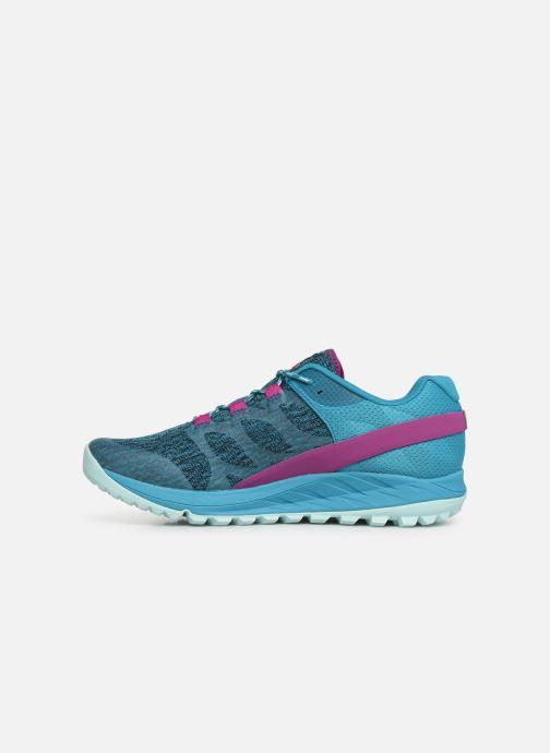 Chaussures de sport Merrell Antora Bleu vue face