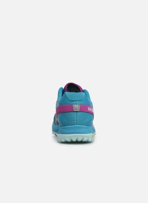 Chaussures de sport Merrell Antora Bleu vue droite