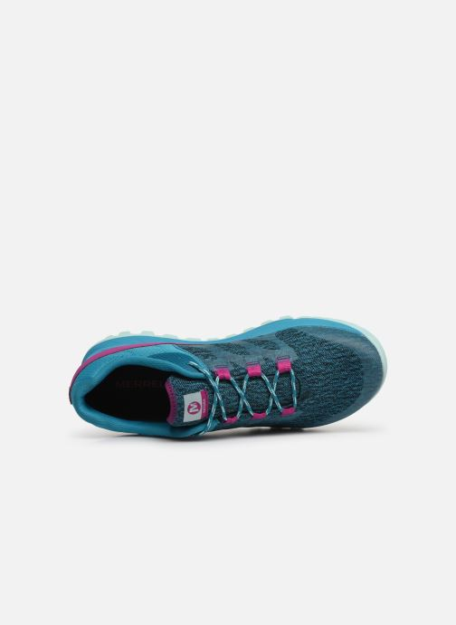 Sport shoes Merrell Antora Blue view from the left