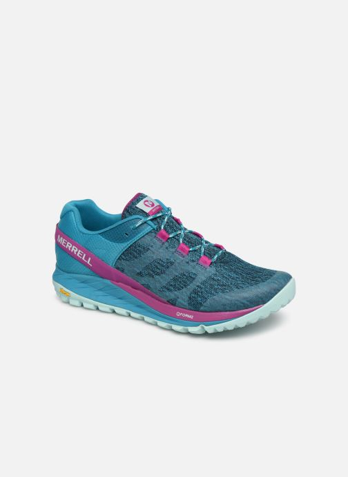 Chaussures de sport Merrell Antora Bleu vue détail/paire