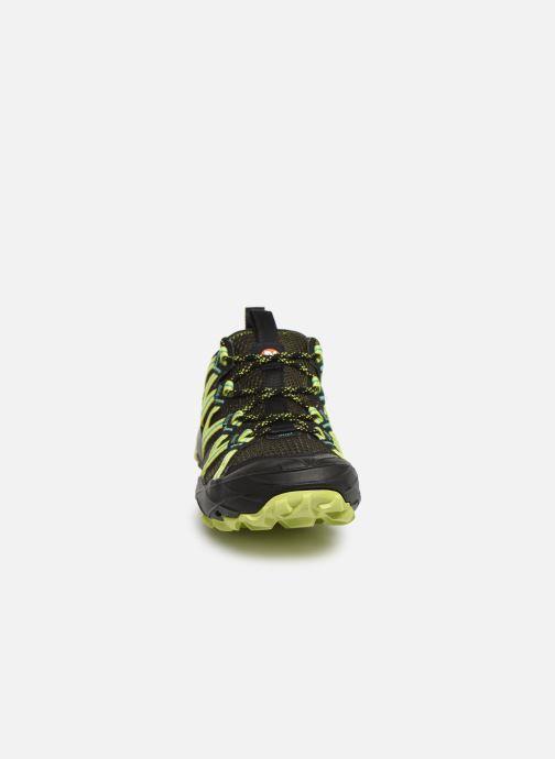 Chaussures de sport Merrell Choprock Gris vue portées chaussures