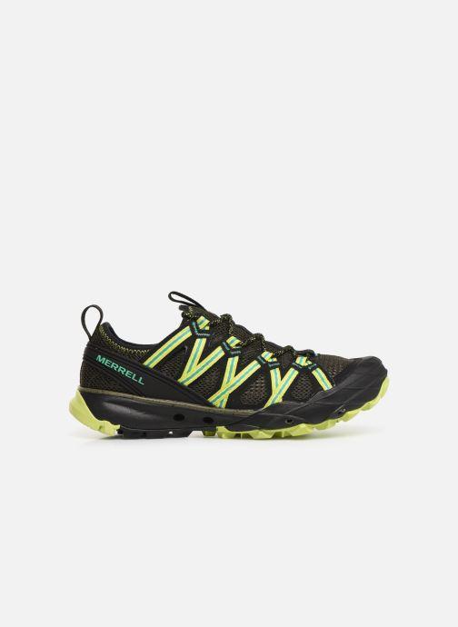 Chaussures de sport Merrell Choprock Gris vue derrière