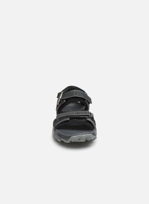 Sandales et nu-pieds Merrell Choprock Strap Noir vue portées chaussures
