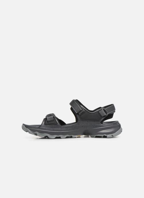 Sandales et nu-pieds Merrell Choprock Strap Noir vue face