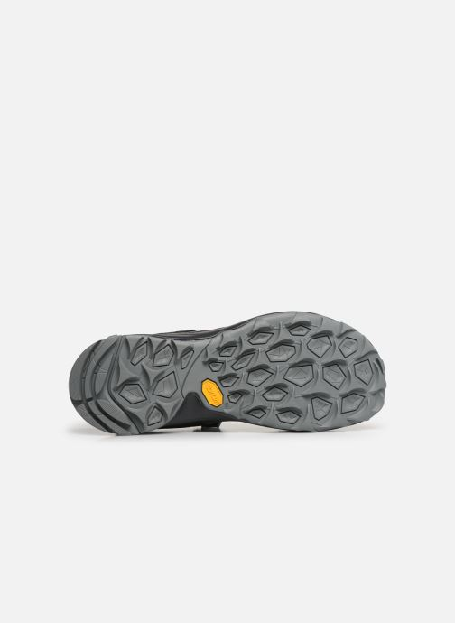 Sandals Merrell Choprock Strap Black view from above