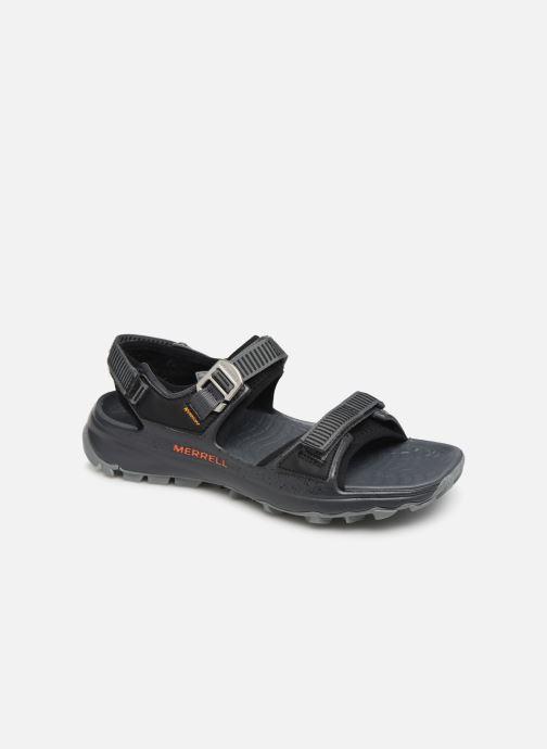 Sandales et nu-pieds Merrell Choprock Strap Noir vue détail/paire