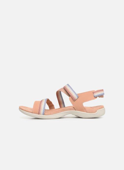 Sandales et nu-pieds Merrell District Mendi Backstrap Rose vue face
