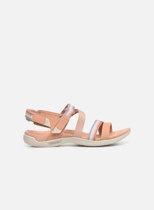 Sandales et nu-pieds Merrell District Mendi Backstrap Rose vue derrière